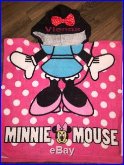 Personalizee Poncho towels so many styles to choose from super awesome perfect for kids gifts batman superman elsa minnie daisy