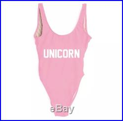 Pink and white Red and white or pink and White unicorn mommy and me mommy and baby matching one peice swim suit bathing suit