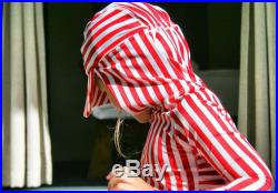 RED WHITE Stripe I EXTREME Hoodie. this is the only SPF50 kids rashie you need