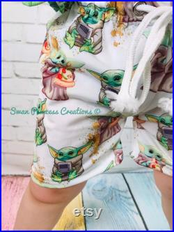 RTS Ships FAST Ready to ship Mando Boys Boutique Pokemon Paw Custom Printed Swimming Trunks Swimsuit Boxers Boys Vacation ST0081