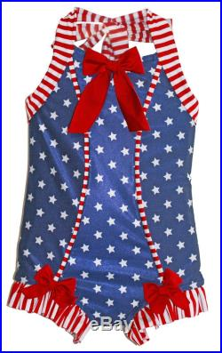 Rebel Belle Swimsuit in Stars and Stripes 2018 Collection (Size 2 12)