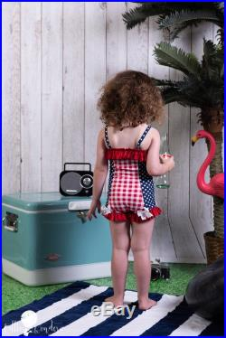 Ruffled Boyshort Swimsuit in Tidal Wave 2019 Collection (Size 12 18 months 12)