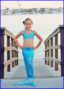 SALE Swimmable Mermaid Tail, Turquoise