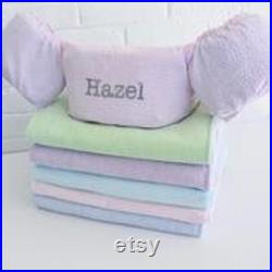Seersucker Puddle Jumper Covers, Monogrammed Flotation Covers-Ready to Ship