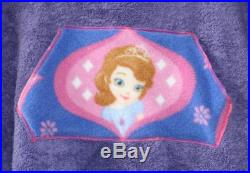 Sofia The First Hooded Poncho Towel for Swim or Bath