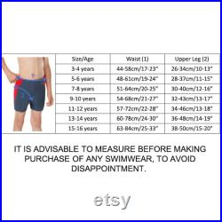 Special Needs Incontinence Swimwear Board Shorts Pants Diapers for Older Boys 3-16 years old by Kes-Vir