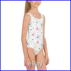 Summer Flowers Swimsuit Girl's Swimsuits Toddler Swimsuits Girl's One-pieces