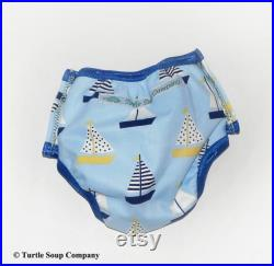 Swim Diaper Side Snap Bathing Suit Swimsuit Lil' Side Snapper swim diaper for boys and girls