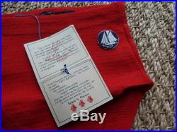 Swimsuit little boat vintage new 5O Magic'Puce 50 s child-made in France stock old newithsize 2 4 years