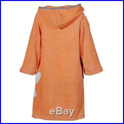 -Terry cloth dress for children coral