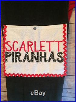 Towel Pants Piranhas Swim Team Personalized for Kids or Teens