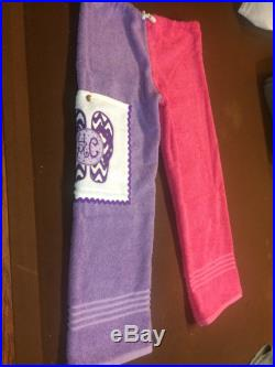 Towel Pants for Kids Or Teens Personalized with Flip Flop and Monogram