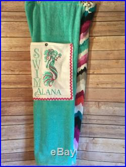Towel Pants with Mermaid Personalized for Kids or Teens