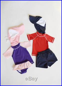 Twin Pack Swimsuit, Toddler Swimsuit, Baby Swimsuit, Baby Girl Swimwear, Toddler Swimwear, Baby Rash Guard, Toddler Rash Guard, Sunhat