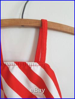 Vintage Red, White and Blue Swimsuit