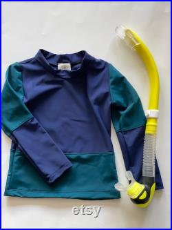 Water sweater, rash guard for young children