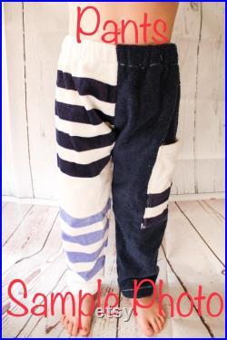 Whimsical Whales Towel Pants