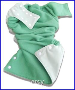 Youth X-Small Little Dippers Washable Swim Diaper-Mint Leaf Green