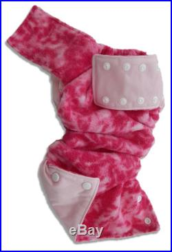 Youth X-Small Little Dippers Washable Swim Diaper-Strawberry Strawberry Swirl