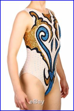 leotard for synchronized swimming